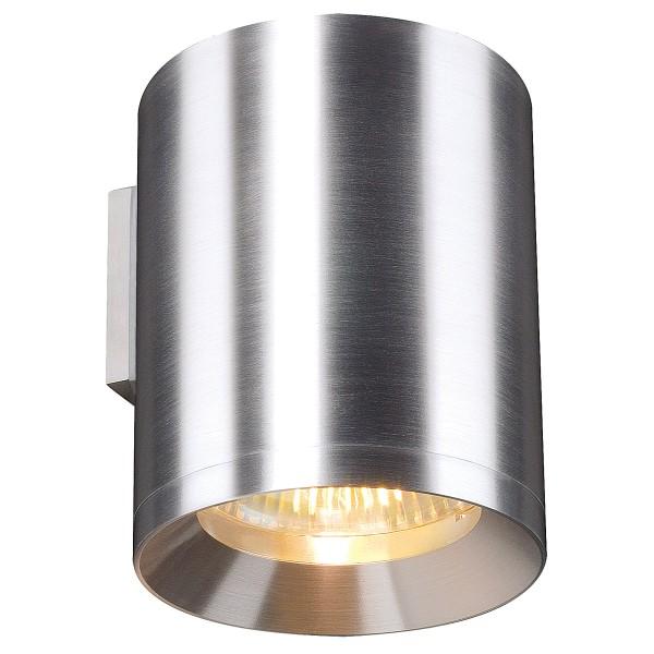 ROX, Wandleuchte, QPAR111, rund, aluminium natur, max. 75W