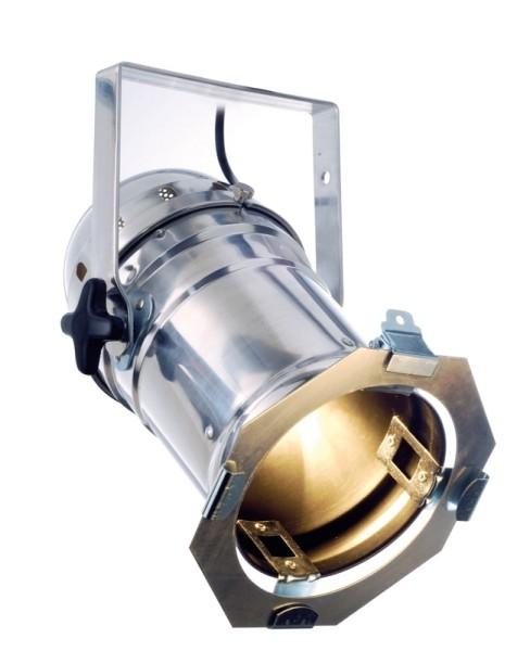 Messestrahler Par 56 E27 Aluminium chrom