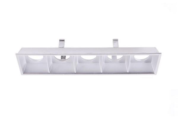 Deko-Light Zubehör, Ceti 5 Reflektor Silber, Kunststoff, Silber, 46°, 123x22mm