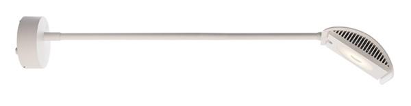 Deko-Light Displayleuchte, Atis II, Aluminium Druckguss, weiß, Warmweiß, 100°, 15W, 230V, 526x144mm