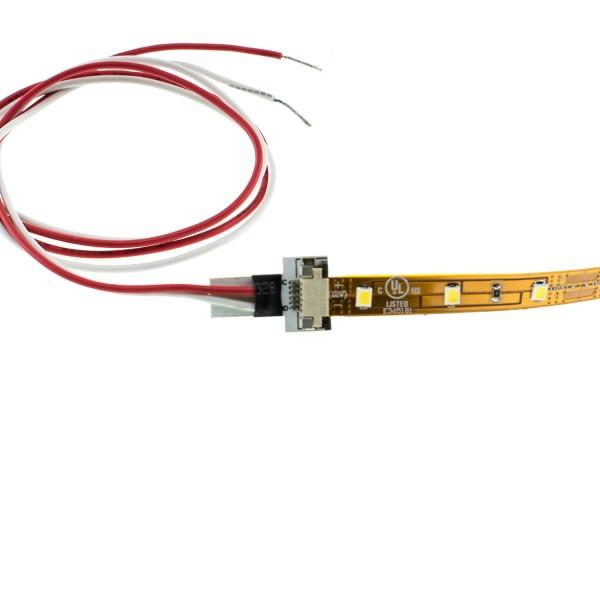 EINSPEISER, für FLEXLED ROLL bis 8mm Breite, 30cm