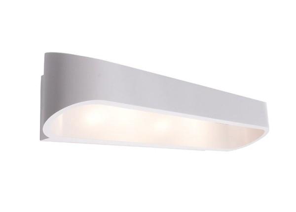 Deko-Light Wandaufbauleuchte, Grand Elevato, Aluminium Druckguss, weiß, Warmweiß, 270°, 18W, 230V