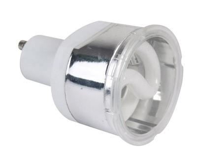 Leuchtmittel, Kompaktleuchtstofflampe, 220-240V AC/50-60Hz, GU10, 7,00 W