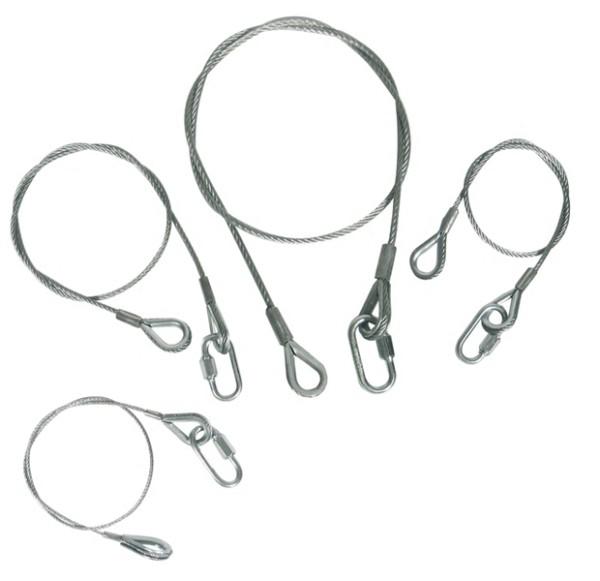 Zubehör / Ersatzteil, Safety 70 cm/3 mm mit Kettennotglied