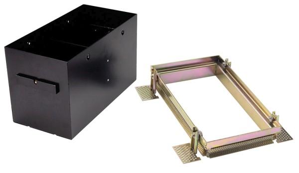 EINBAURAHMEN 2 FRAMELESS, für AIXLIGHT PRO, rechteckig, schwarz, L/B/H 31,5/15,5/18,5 cm