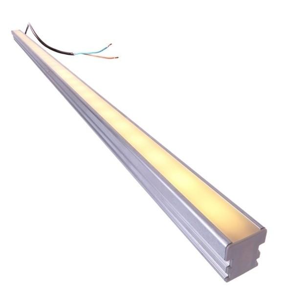 Deko-Light LED Bar / Tube, HR-LINE Komplettset Outdoor, Aluminium, Warmweiß, 120°, 4W, 12V, 1000mm