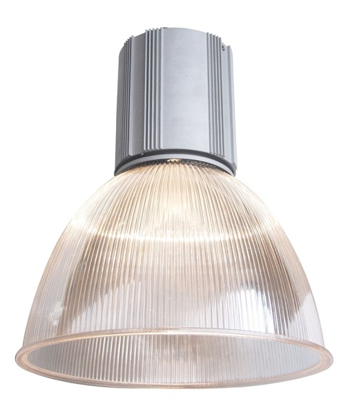 Deko-Light Pendelleuchte, Zirkonia mit Acrylschirm, Aluminium Druckguss, silberfarben matt, 160W