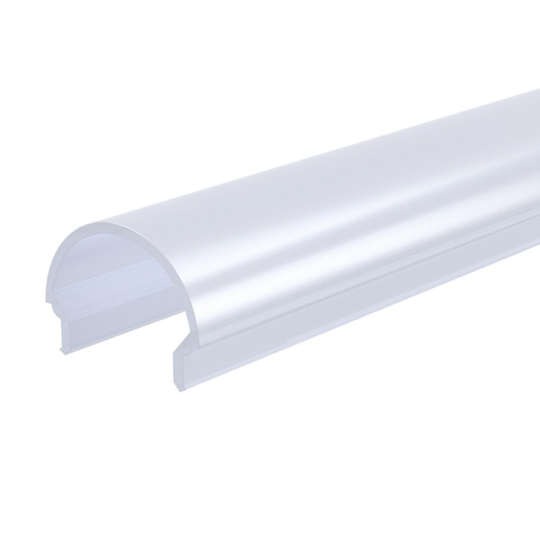Reprofil, Abdeckung R-01-12, Kunststoff, milchig 40% Transmission, Länge: 2000 mm