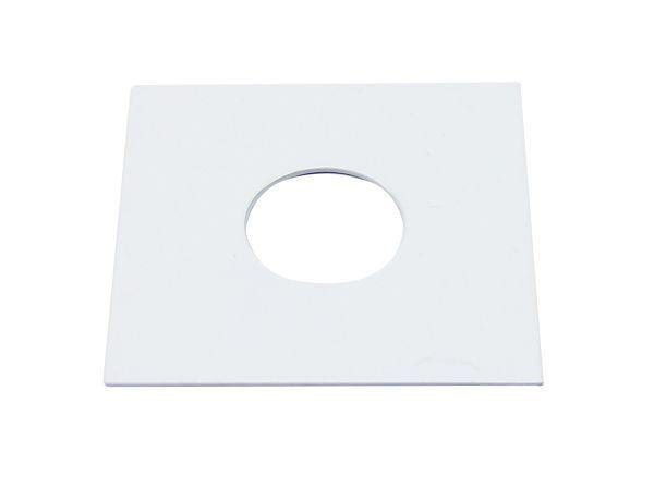 Quad Platte für Light Point weiß,60 x 60 mm.