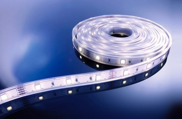 Flexibler LED Stripe IP67, 12V, 5 m Rolle, CW