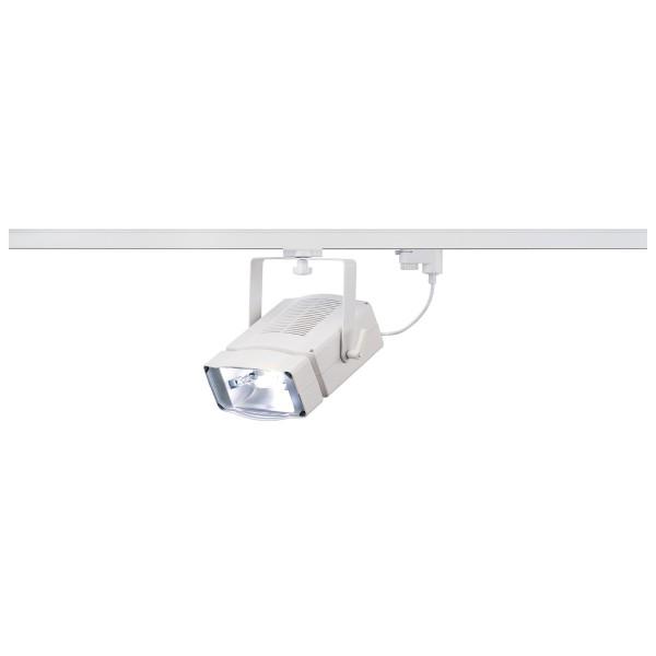 SDL 150, Strahler für Hochvolt-Stromschiene 3Phasen, HIT-DE, weiß, max. 150W