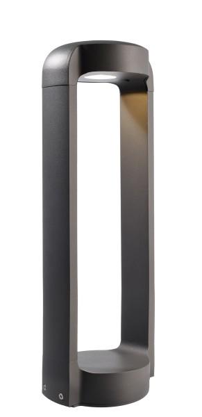 Deko-Light Stehleuchte, Antliae 50, Aluminium Druckguss, dunkelgrau, Warmweiß, 12W, 230V, 152x121mm