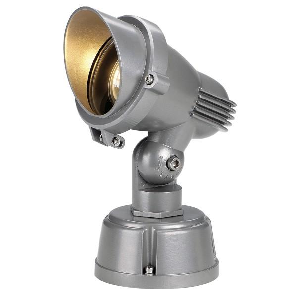 EASYLITE, Outdoor Strahler, QPAR51, IP44, steingrau, max. 50W