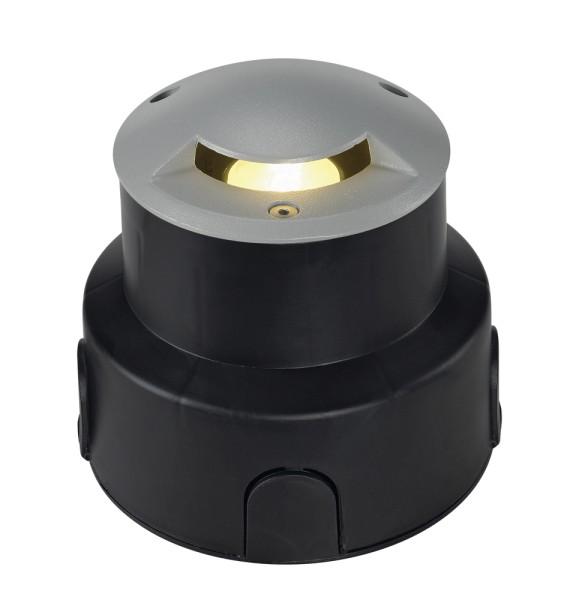 AQUADOWN MICRO 93, Outdoor Bodeneinbauleuchte, QR-CBC35, IP67, 1 Slot, max. 20W