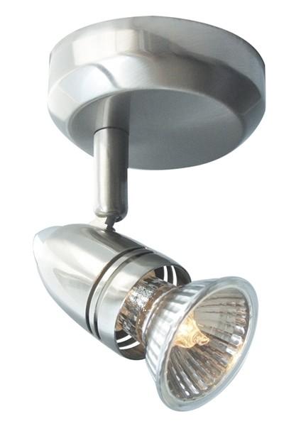 Kapego Deckenaufbauleuchte, Sol 1-flammig, exklusive Leuchtmittel, 220-240V AC/50-60Hz, Anzahl Socke