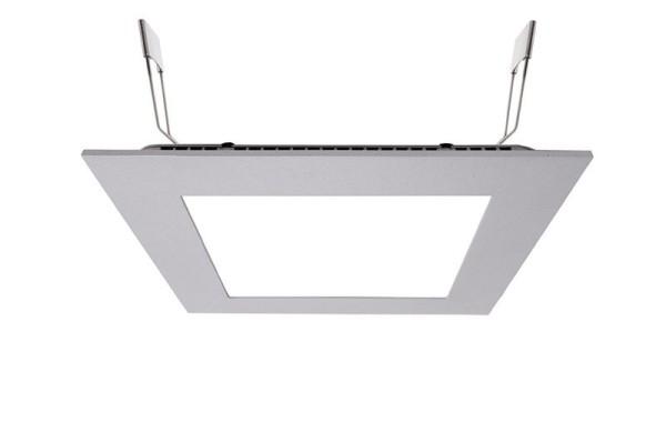 Deko-Light Deckeneinbauleuchte, LED Panel Square 15, Aluminium Druckguss, silberfarben, Neutralweiß