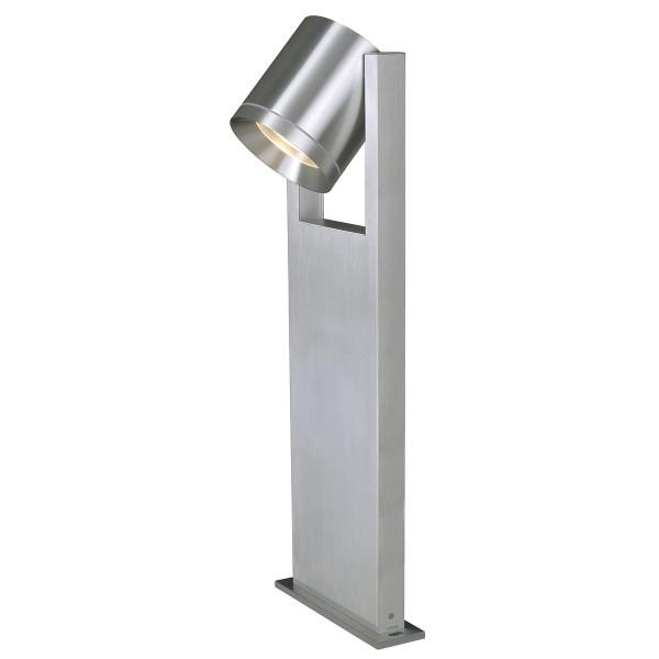 ROX PATHLIGHT, Outdoor Standleuchte, QPAR111, IP44, aluminium gebürstet, max. 50W