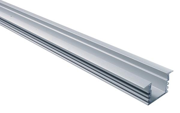 PDS4-K, Silber-matt, eloxiert, 2000 mm