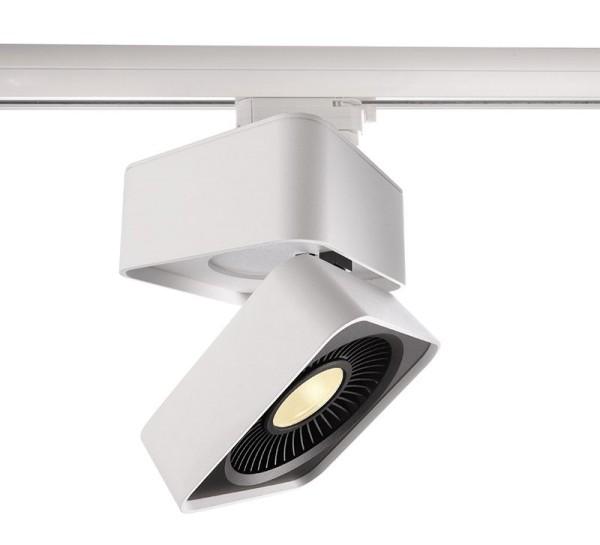 Deko-Light Schienensystem 3-Phasen 230V, Black & White IV, Aluminium Druckguss, weiß, Warmweiß, 40°
