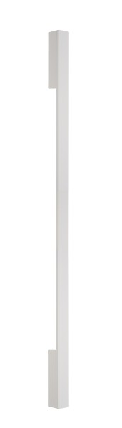 Deko-Light Wandaufbauleuchte, Larga 910, Aluminium Druckguss, weiß satiniert, Warmweiß, 110°, 8W
