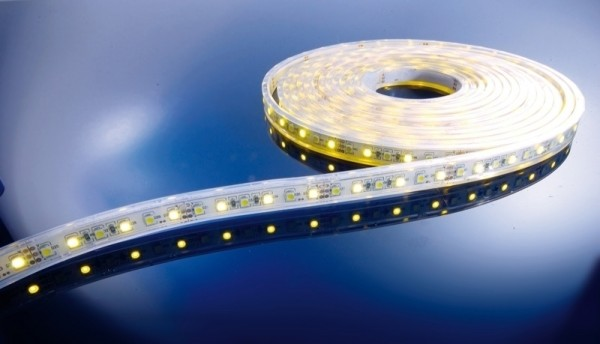 Flexibler LED Stripe IP67, 12V, 5 m Rolle, CW - WW