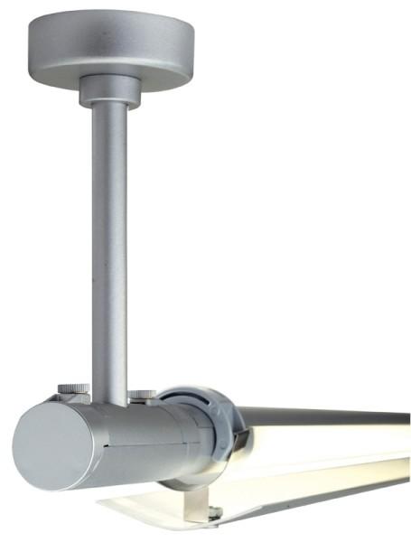 Tune 2-Phasen Leuchtschiene Deckenreflektor silber