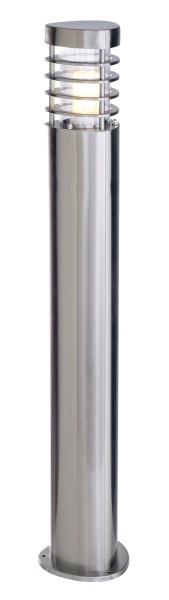 Deko-Light Stehleuchte, Estada, Edelstahl, silberfarben, 11W, 230V