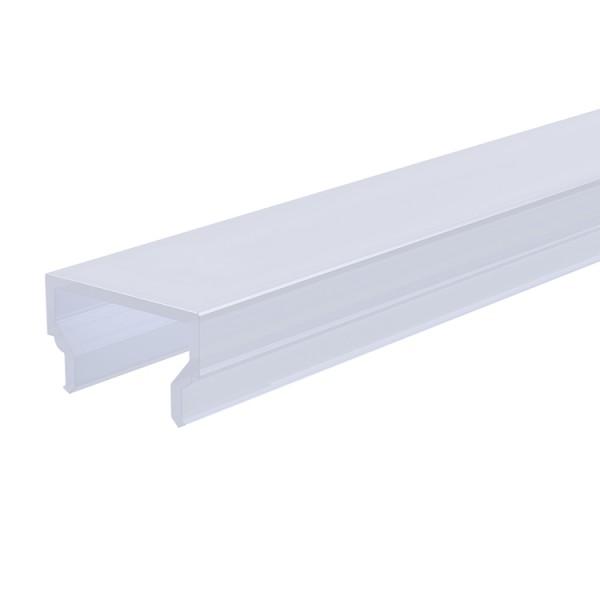 Reprofil, Abdeckung H-01-10, Kunststoff, milchig 40% Transmission, Länge: 2000 mm