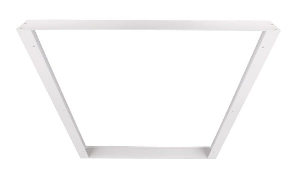 Deko-Light Zubehör, Aufbaurahmen 62x62, Aluminium Strangpressprofil, weiß, 628x628mm
