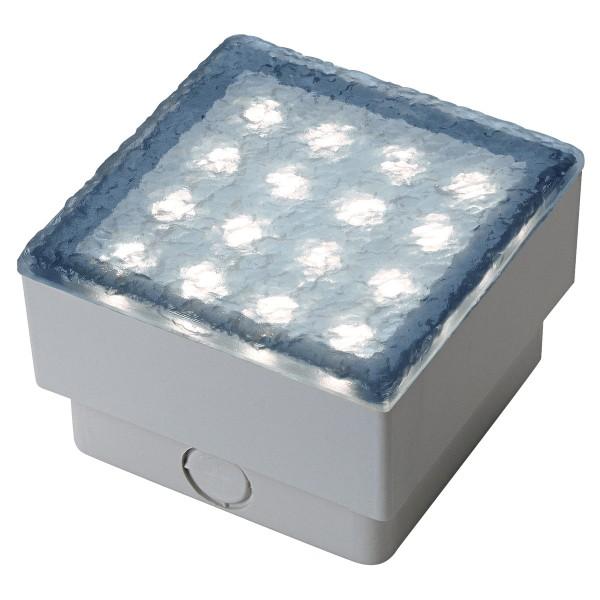 LED STEIN, Bodeneinbauleuchte, LED, 6500K, IP67, L/B 10/10 cm, 3W