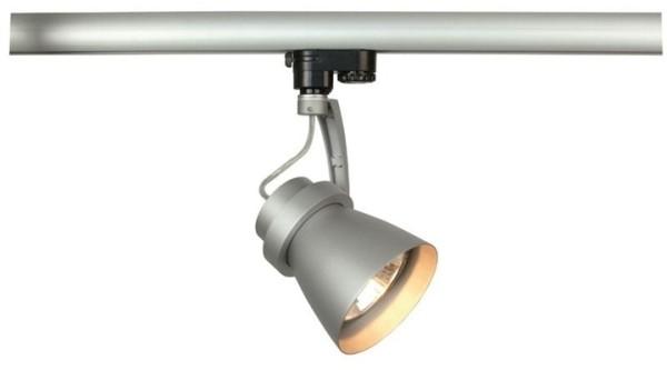 Kapego Schienensystem 3-Phasen 230V, Ogel PAR 30, exklusive Leuchtmittel, Silber-matt, E27
