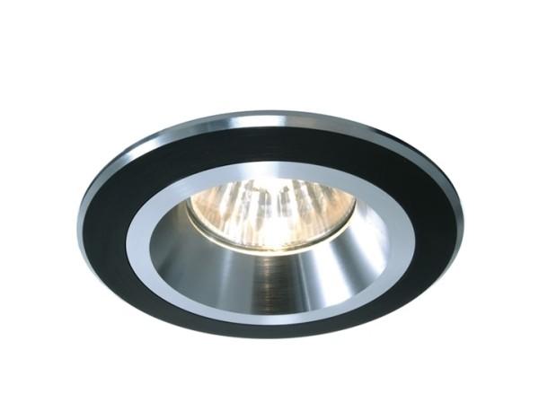 Kapego Deckeneinbauring, exklusive Leuchtmittel, Schwarz-matt, spannungskonstant, 12V AC/DC, Anzahl