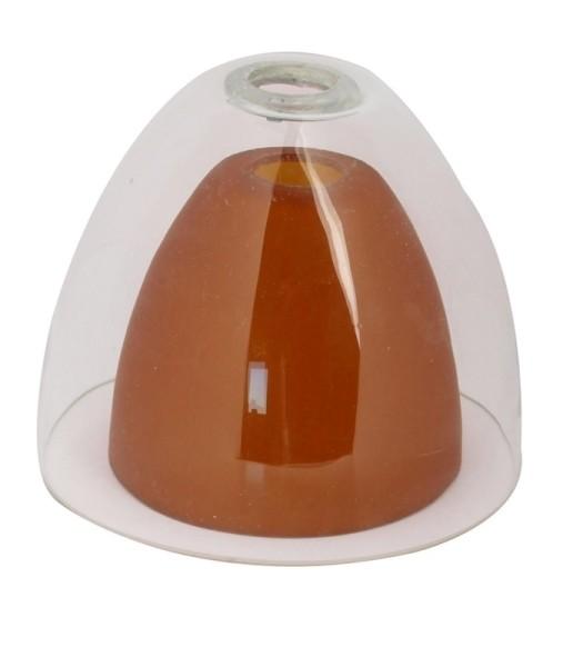Deko-Light Schienensystem One 12V, Glas für Pendelleuchte II Klar / Amber, klar / transparent