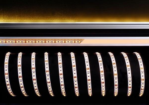 Deko-Light Flexibler LED Stripe, 3528-120-12V-amber-5m, Kupfer, Weiß, Amber, 120°, 36W, 12V, 5000mm