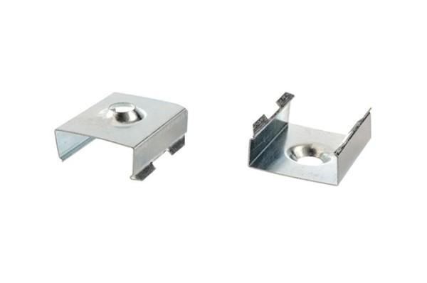 Reprofil, Halteklammer - 10 Set 2 Stk, Metall, Länge: 20mm