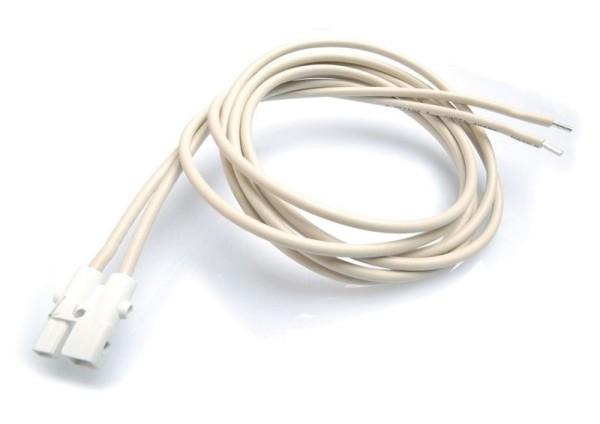 Zubehör, Wieland Anschlusskabel ST16 120cm, Kunststoff, Weiß, 12V, 1200mm
