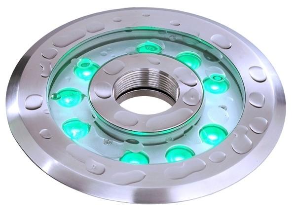 Unterwasserleuchte, spannungskonstant, symmetrisch, 24V DC, 27,00 W
