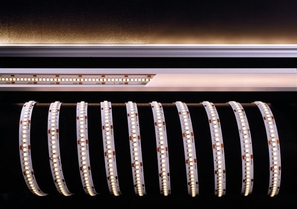 Deko-Light Flexibler LED Stripe, 3528-240-24V-3000K-3m, Kupfer, Weiß, Warmweiß, 120°, 55W, 24V