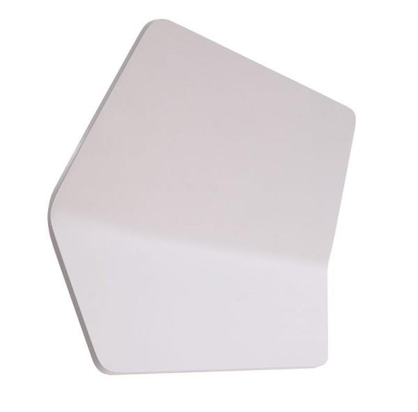 Deko-Light Wandaufbauleuchte, Keops, Aluminium Druckguss, weiß, Warmweiß, 100°, 13W, 230V, 350mA