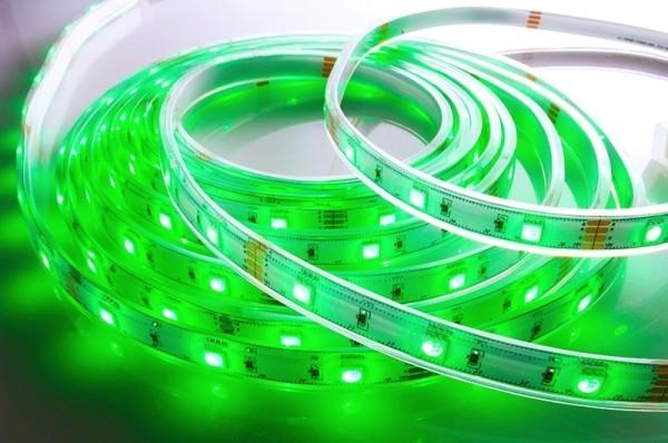 Flexibler LED Stripe IP67, 12V, 5 m Rolle, RGB