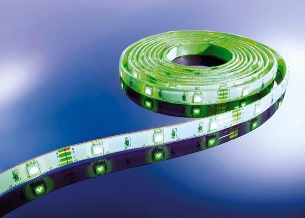 Flexibler LED Stripe IP 33, 12V, 3 m Rolle,7,2 W/m