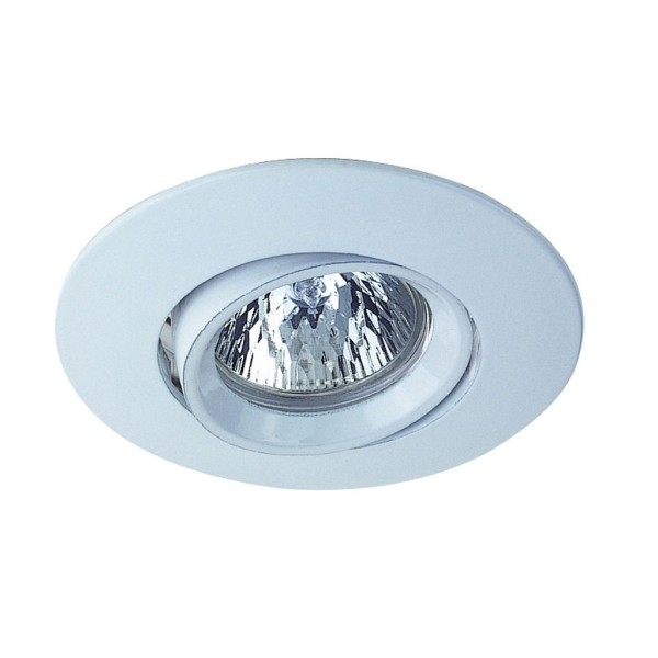AUSTRATURN Downlight, rund, weiss, MR16, max. 50W