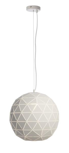 Deko-Light Pendelleuchte, Asterope rund 500, Metall, weiß matt, 40W, 230V, 1600mm