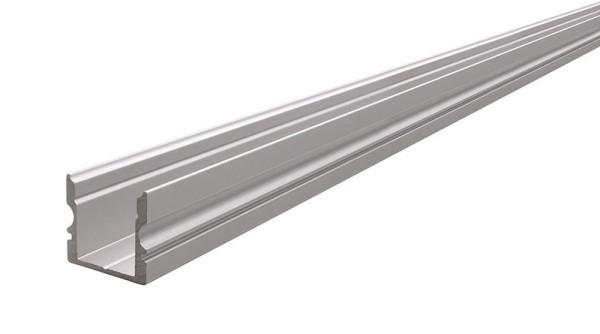 Reprofil Profil, U-Profil hoch AU-02-10, Aluminium, Silber-matt eloxiert, 1000mm