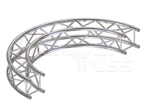 Kreisstück F14 für 3 Meter/Kreis 1 Stück 90 °