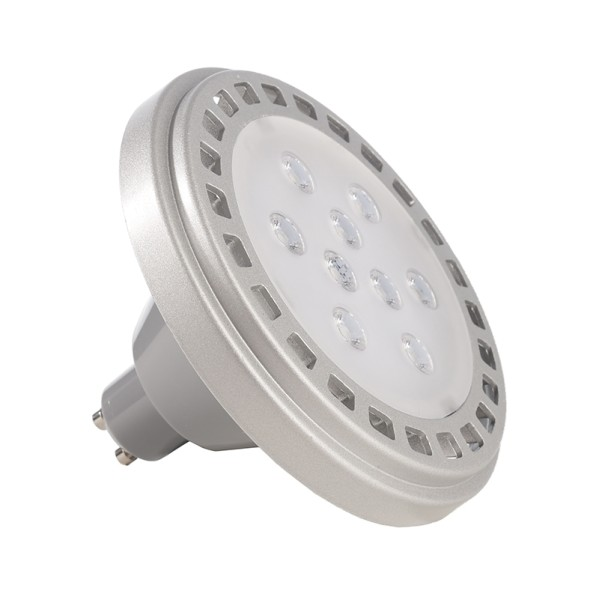 Deko-Light Leuchtmittel, LED ES111 4200K, Aluminium Druckguss, Grau, Neutralweiß, 30°, 11W, 230V