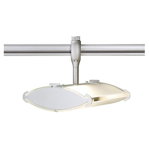 SAIL R7s Lampenkopf für EASYTEC II, silbergrau, max. 100W, satiniertes Glas