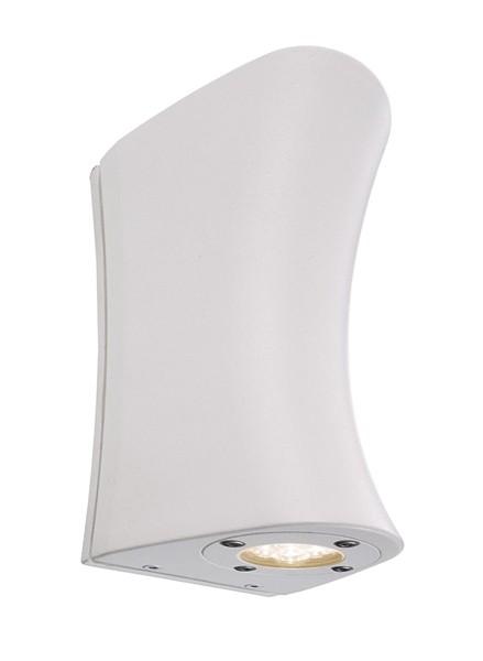 KapegoLED Wandaufbauleuchte, Cambur W, inklusive Leuchtmittel, Neutralweiß, spannungskonstant, Weiß