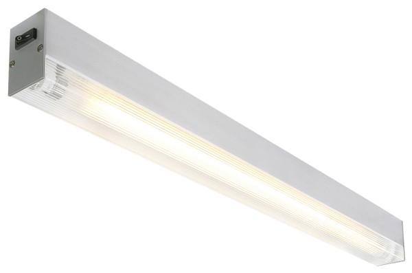 SIGHT, Wand- und Deckenleuchte, T16 - 55cm, rechteckig, aluminium gebürstet, max. 24W