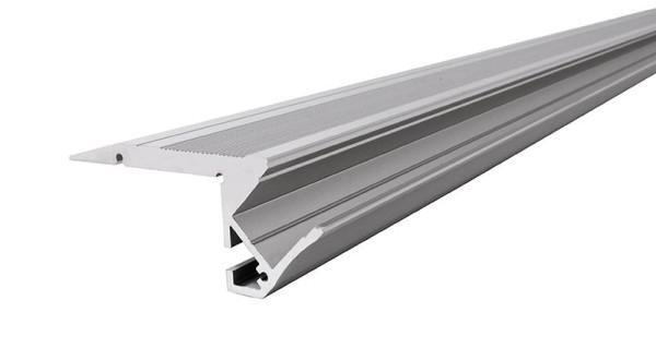 Reprofil, Treppenstufen-Profil AL-01-10 für 10 - 11,3 mm LED Stripes, Aluminium, Silber-matt